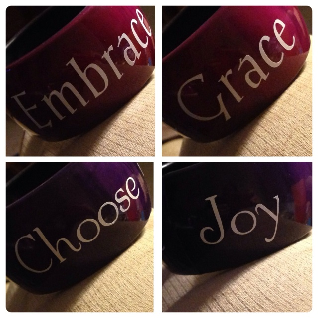 Choose Joy/Embrace Grace