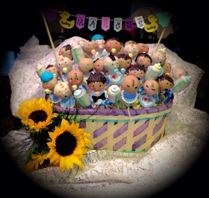 Baby Cake Pops!