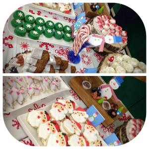 Chocolate Covered Oreos, Santa Sugar Cookies, Christmas Mouse Sugar Cookies,